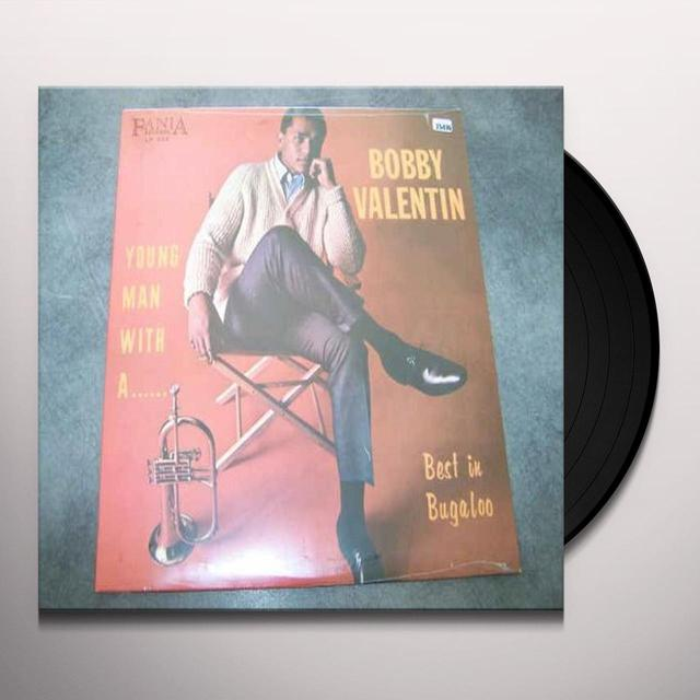 Bobby Valentin YOUNG MAN WITH A HORN: BEST IN BUGALOO Vinyl Record