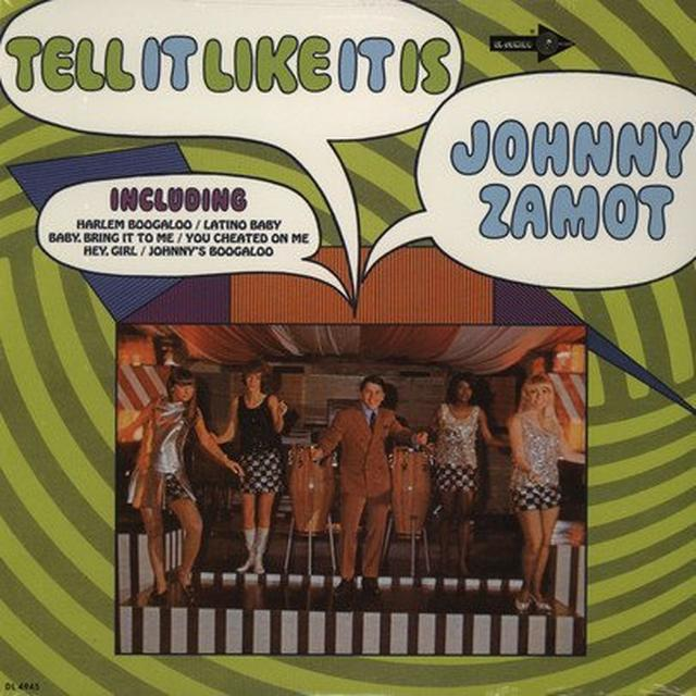 Johnny Zamot TELL IT LIKE IT IS Vinyl Record