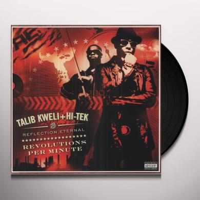 Talib + Hi-Tek Kweli REFLECTION ETERNAL - REVOLUTIONS PER MINUTE Vinyl Record