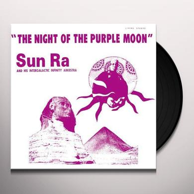 Sun Ra NIGHT OF THE PURPLE MOON Vinyl Record