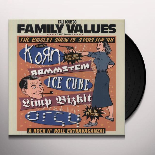 FAMILY VALUES TOUR / VARIOUS Vinyl Record