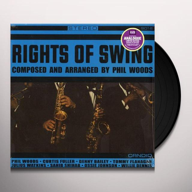Phil Woods RIGHTS OF SWING Vinyl Record - 180 Gram Pressing
