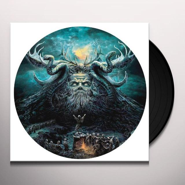 Testament DARK ROOTS OF EARTH Vinyl Record - Picture Disc