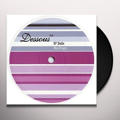 D'Julz BERLINGO (EP) Vinyl Record