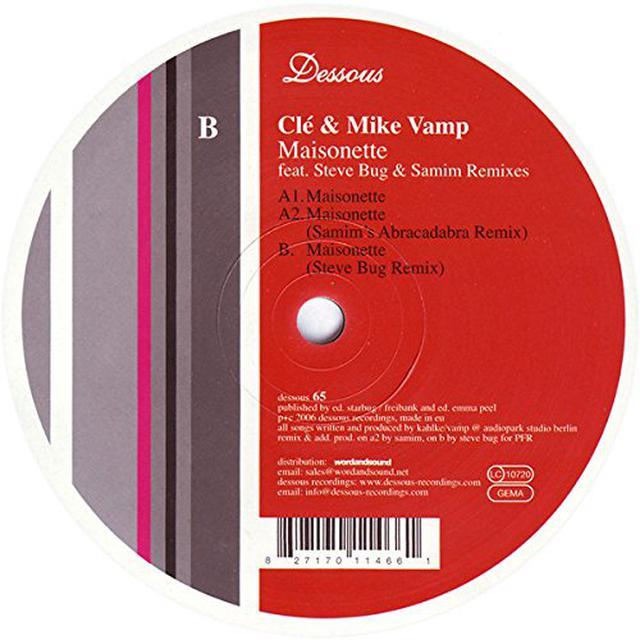 Cle & Mike Vamp MAISONETTE Vinyl Record