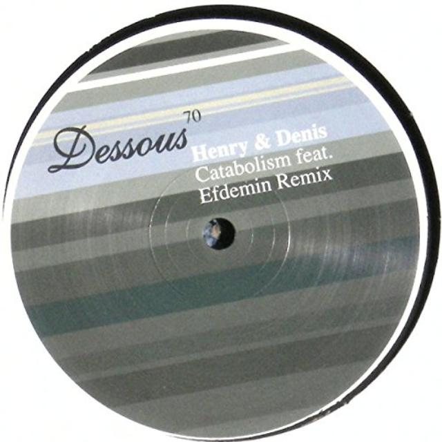 Henry & Denis CATABOLISM Vinyl Record