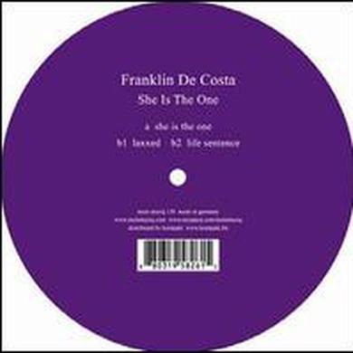 Franklin De Costa SHE IS THE ONE Vinyl Record