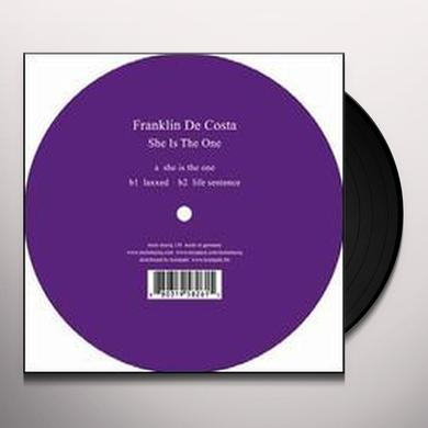 Franklin De Costa SHE IS THE ONE Vinyl Record