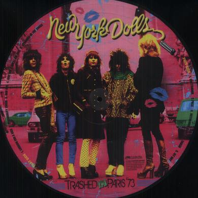 New York Dolls TRASHED IN PARIS 73 Vinyl Record