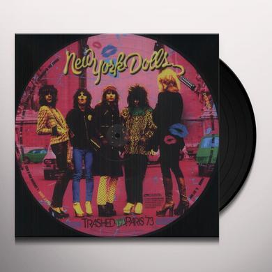 New York Dolls TRASHED IN PARIS 73 Vinyl Record