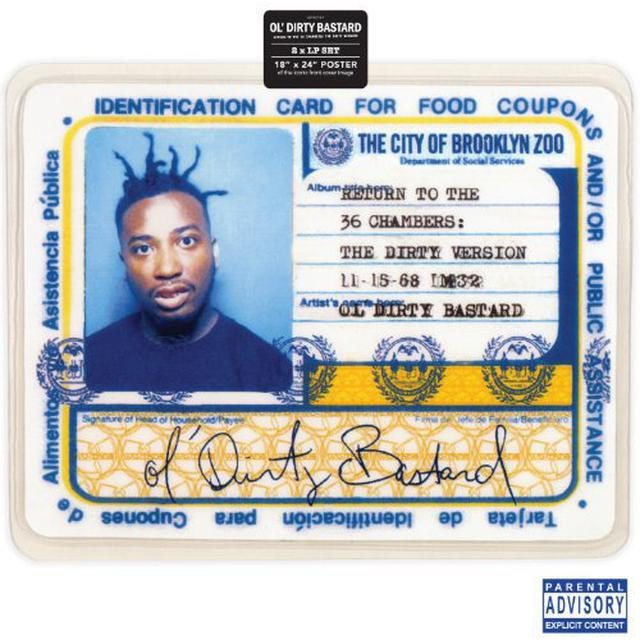Ol Dirty Bastard RETURN TO THE 36 CHAMBERS Vinyl Record