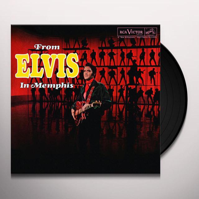 FROM ELVIS IN MEMPHIS Vinyl Record - Limited Edition, 180 Gram Pressing