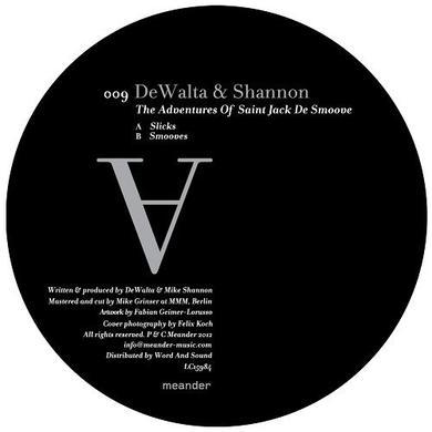 Dewalta & Shannon ADVENTURES OF SAINT JACK DE SMOOVE Vinyl Record