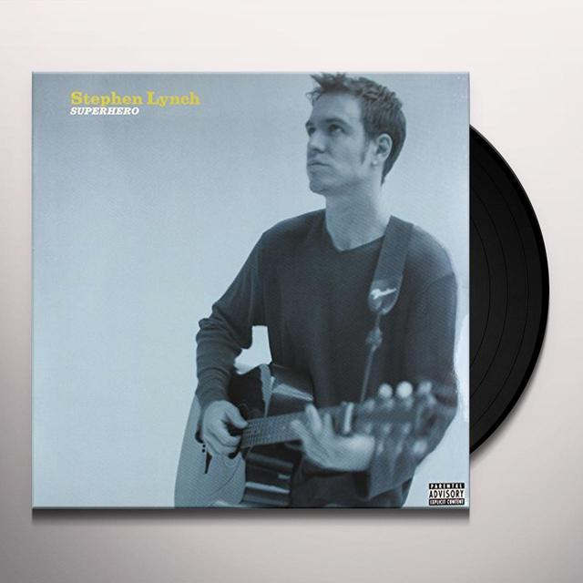 Stephen Lynch SUPERHERO Vinyl Record