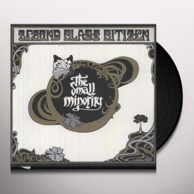2Econd Class Citizen SMALL MINORITY Vinyl Record