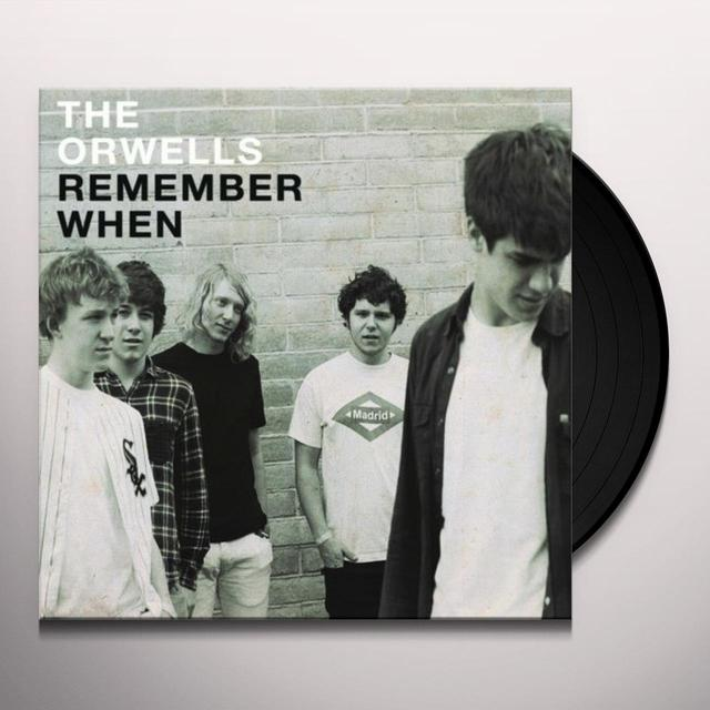 The Orwells REMEMBER WHEN Vinyl Record