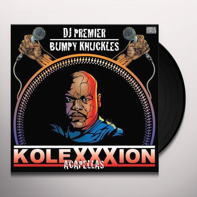 Dj Premier & Bumpy Knuckles KOLEXXXION (ACAPELLAS) Vinyl Record