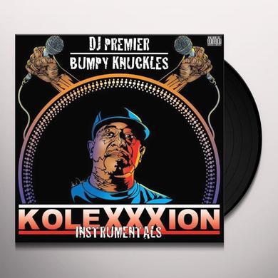 Dj Premier & Bumpy Knuckles KOLEXXXION (INSTRUMENTALS) Vinyl Record