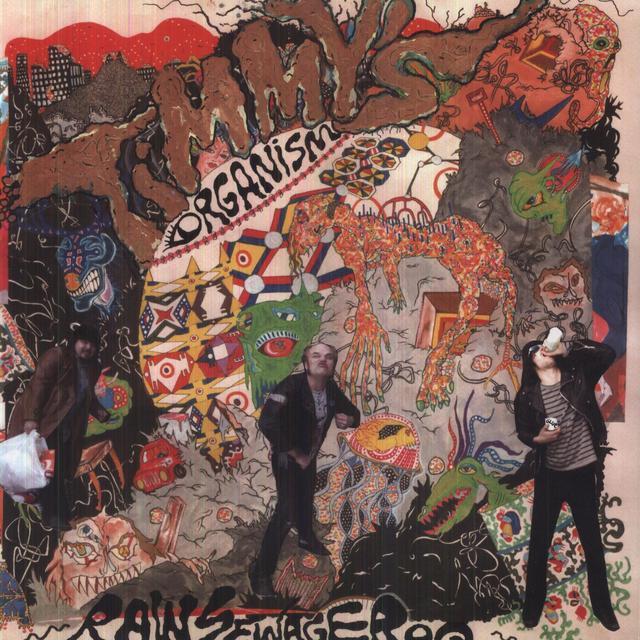 Timmys Organism RAW SEWAGE ROQ Vinyl Record