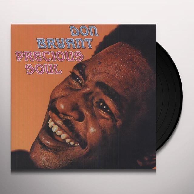 Don Bryant PRECIOUS SOUL Vinyl Record