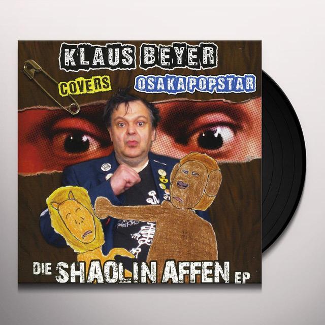 Klaus Beyer Covers Osaka Popstar DIE SHAOLIN AFFEN Vinyl Record