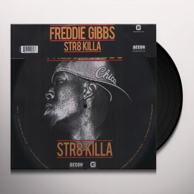 Freddie Gibbs STR8 KILLA Vinyl Record - Limited Edition, Picture Disc