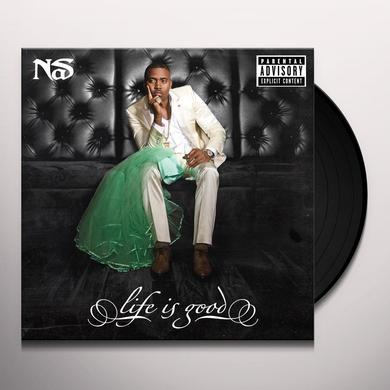 Nas LIFE IS GOOD Vinyl Record