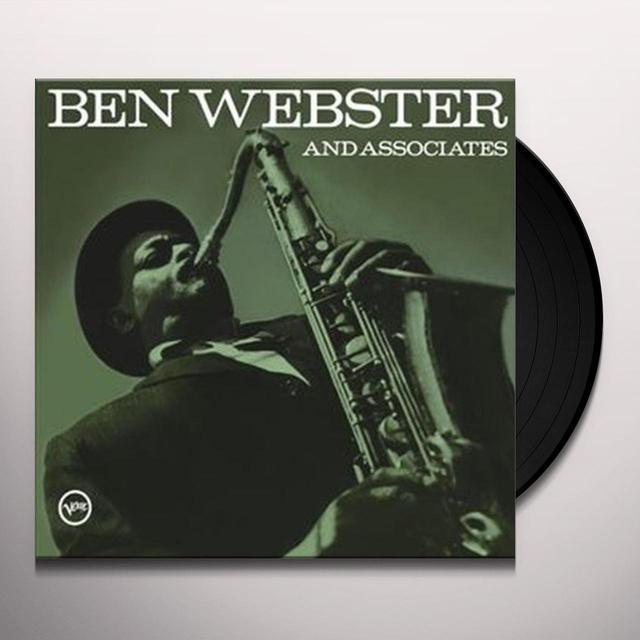 BEN WEBSTER & ASSOCIATES Vinyl Record - Limited Edition, 180 Gram Pressing