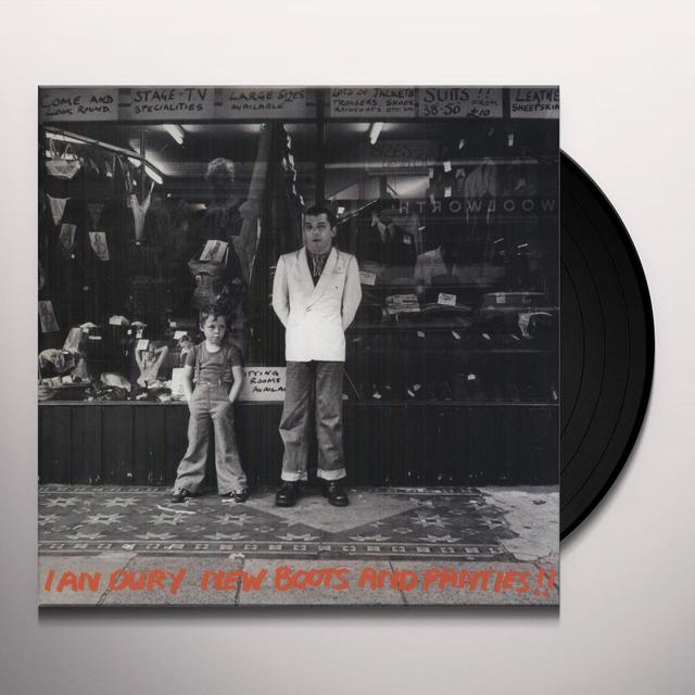 Ian Dury NEW BOOTS & PANTIES Vinyl Record - Limited Edition, 180 Gram Pressing