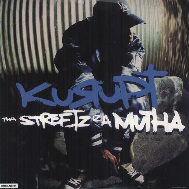 Kurupt THS STREETZ IZ A MUTHA Vinyl Record