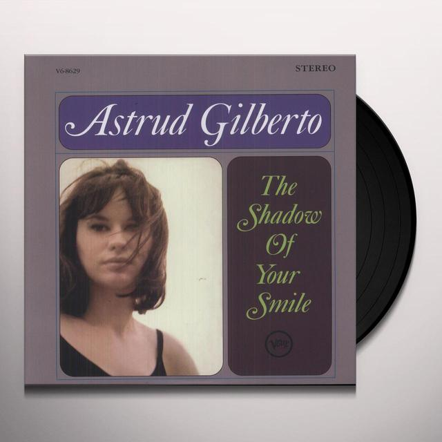 Astrud Gilberto SHADOW OF YOUR SMILE Vinyl Record - Limited Edition, 180 Gram Pressing