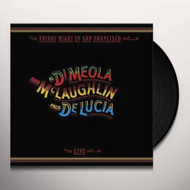 Al Di Meola & John Mclaughlin FRIDAY NIGHT IN SAN FRANCISCO Vinyl Record