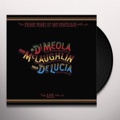 Al Di Meola & John Mclaughlin FRIDAY NIGHT IN SAN FRANCISCO Vinyl Record - Limited Edition, 180 Gram Pressing