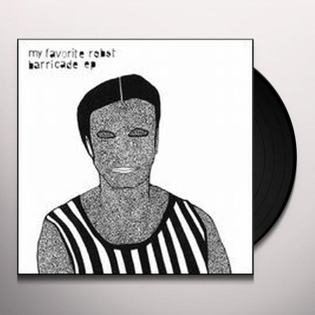 My Favorite Robot BARRICADE Vinyl Record