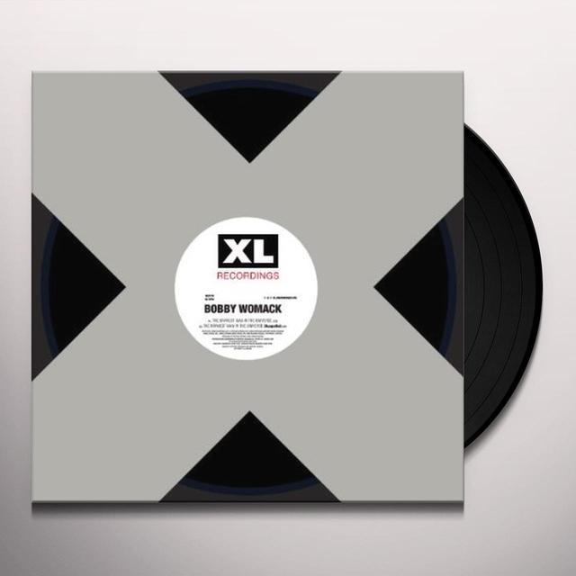 Bobby Womack BRAVEST MAN IN THE UNIVERSE Vinyl Record