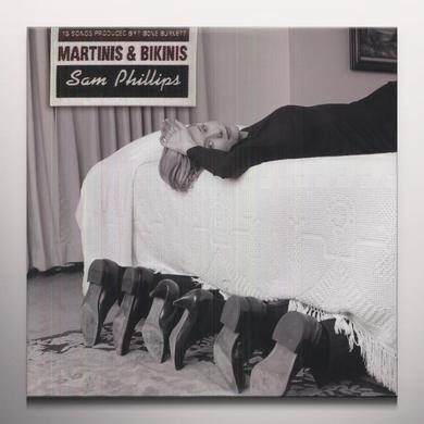 Sam Phillips MARTINIS & BIKINIS (BONUS TRACKS) Vinyl Record - Colored Vinyl, Reissue