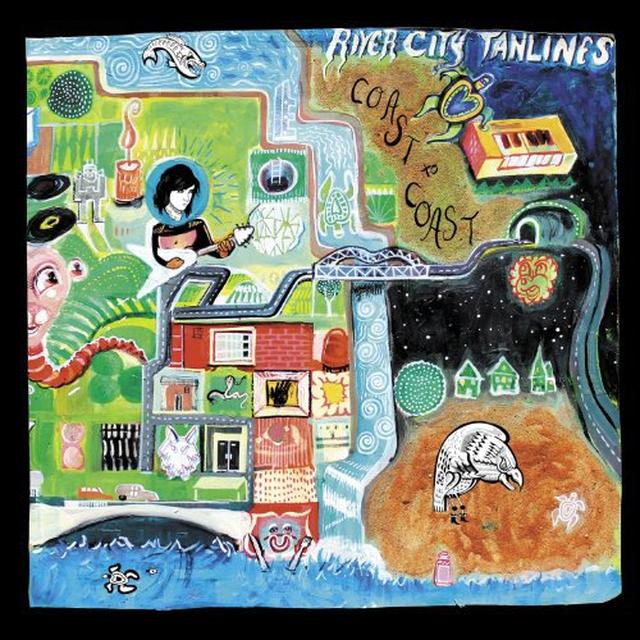 River City Tanlines COAST TO COAST Vinyl Record