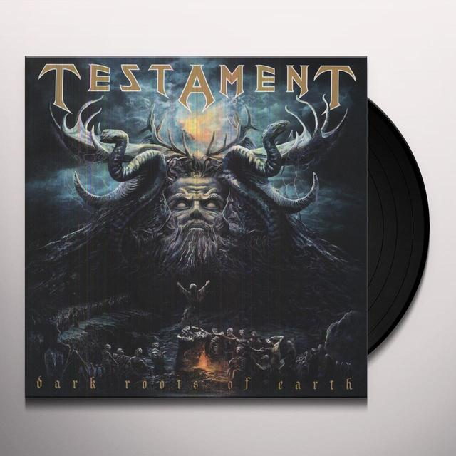 Testament DARK ROOTS OF EARTH Vinyl Record