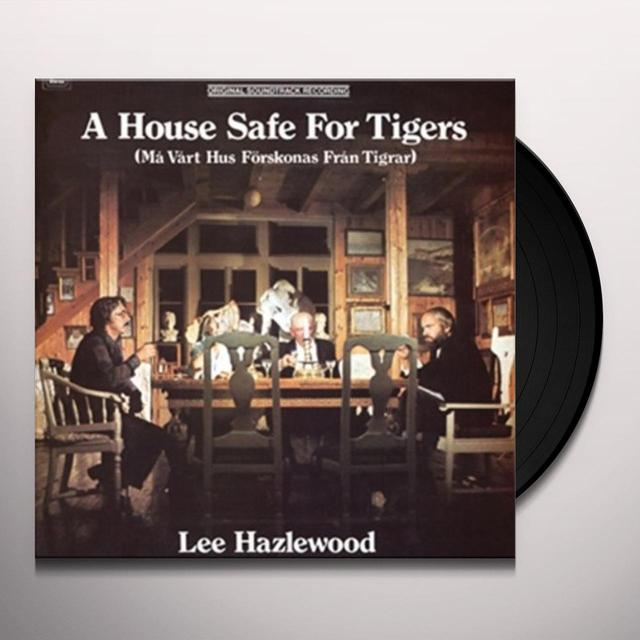 Lee Hazlewood HOUSE SAFE FOR TIGERS Vinyl Record