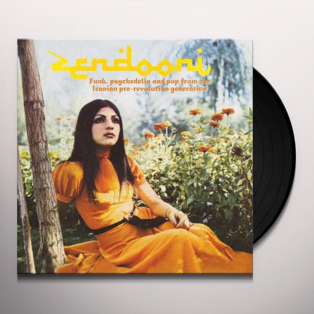 ZENDOONI: FUNK PSYCHEDELIA & POP IRANIAN / VARIOUS Vinyl Record