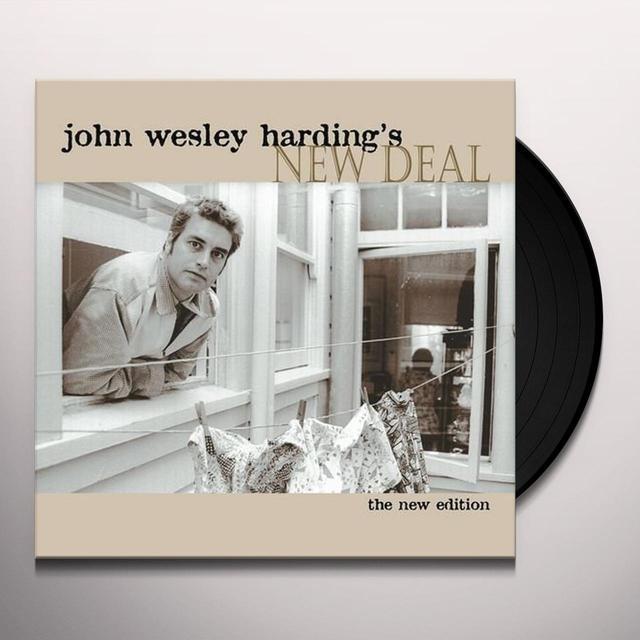 JOHN WESLEY HARDING'S NEW DEAL Vinyl Record