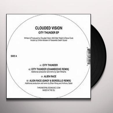 Clouded Vision CITY THUNDER (EP) Vinyl Record