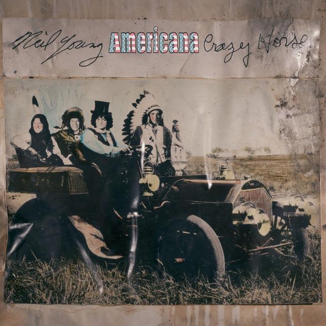 Neil Young & Crazy Horse AMERICANA Vinyl Record