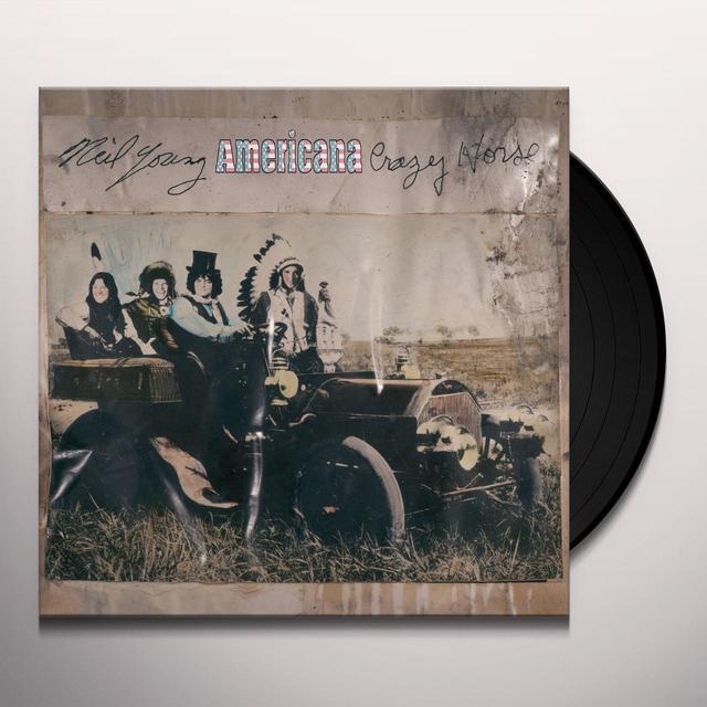 Neil Young & Crazy Horse AMERICANA Vinyl Record - 180 Gram Pressing