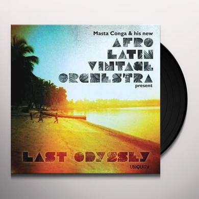 Afro Latin Vintage Orchestra LAST ODYSSEY Vinyl Record - MP3 Download Included