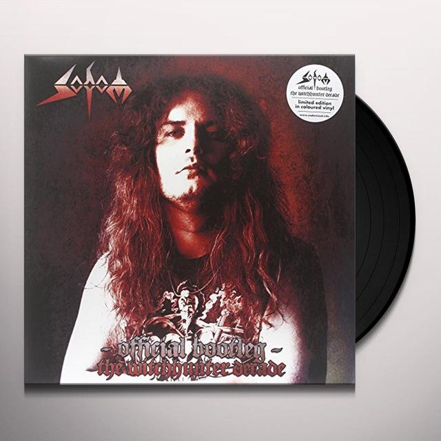 Sodom OFFICIAL BOOTLEG: THE WITCHHUNTER DECADE Vinyl Record