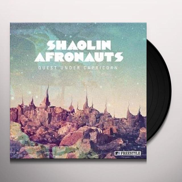 The Shaolin Afronauts QUEST UNDER CAPRICORN Vinyl Record