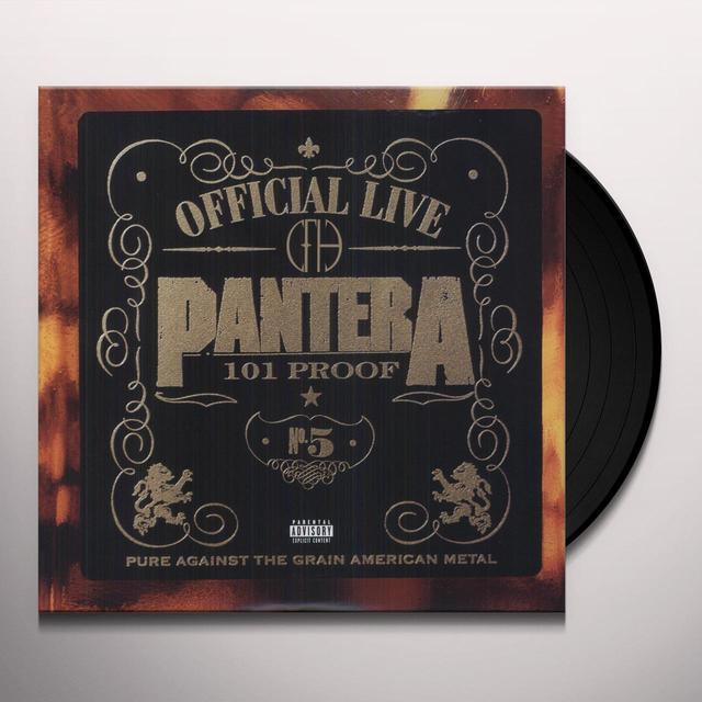 Pantera OFFICIAL LIVE (OGV) (Vinyl)