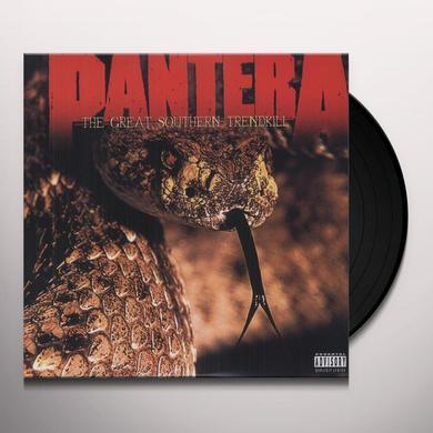 Pantera GREAT SOUTHERN TRENDKILL Vinyl Record - 180 Gram Pressing