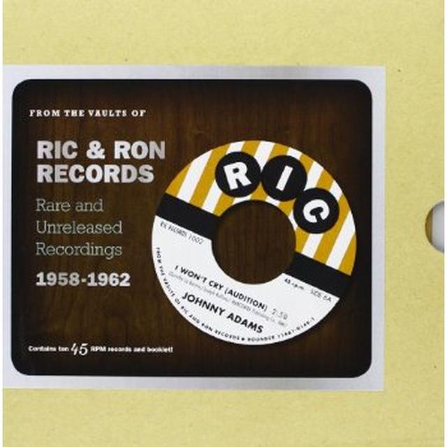 FROM THE VAULTS OF RIC & RON RECORDS / VARIOUS Vinyl Record